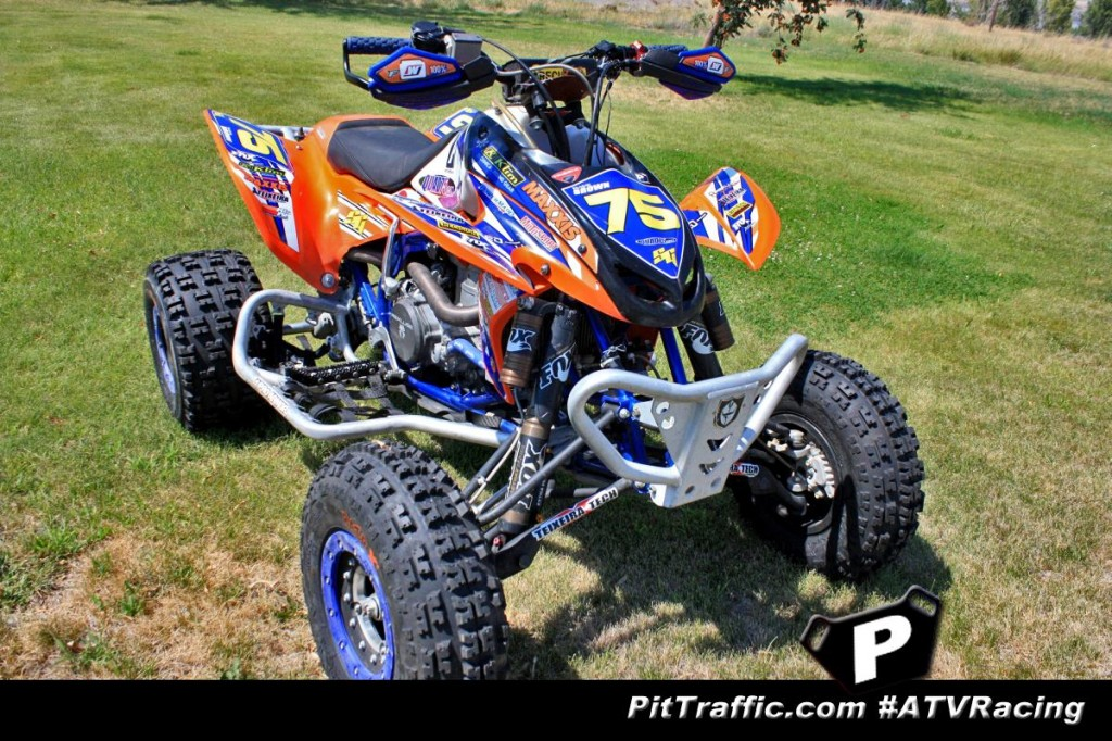 Brandon brown 39 s quad75 racing website - Spider graphix ...