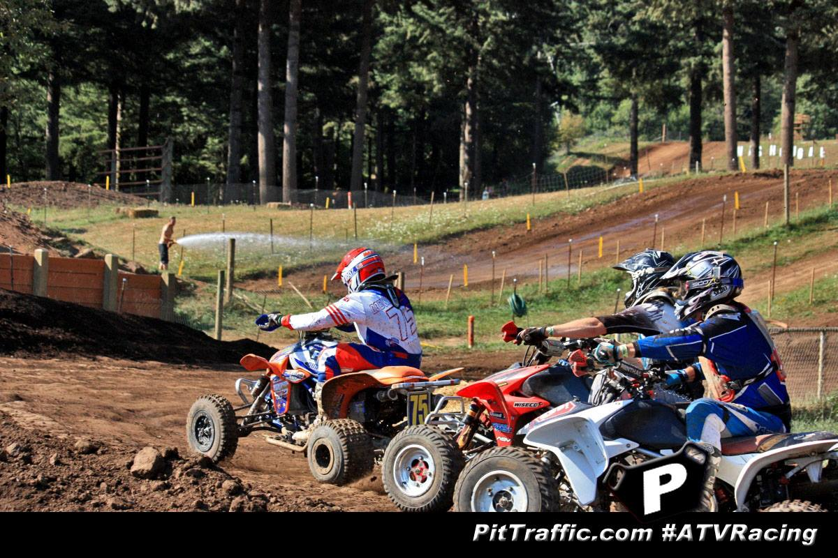 Holeshot! I am out front!